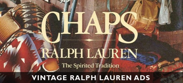 Vintage Ralph Lauren Ads