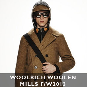 Woolrich Woolen Mills F/W 2013 by Marc McNairy