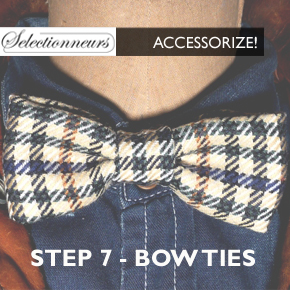 ACCESSORIZE Step 7 - Bow Tie
