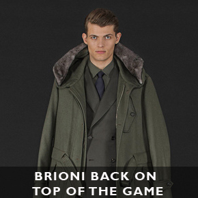 Brioni back on top of the menswear game