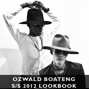 Ozwald Boateng Lookbook S/S 2012