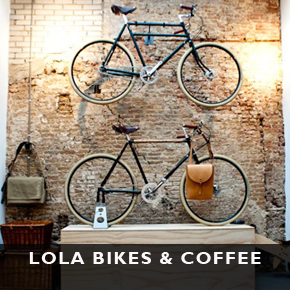 Lola bikes and coffee