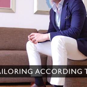 Personal Tailoring According to Amir Etemadi