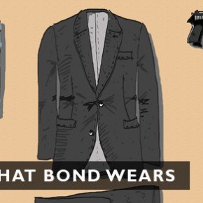 What Bond wears, what Bond drives
