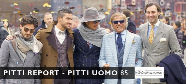 Pitti Report - Pitti Uomo 85, January 2014