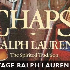 Vintage Ralph Lauren Ads