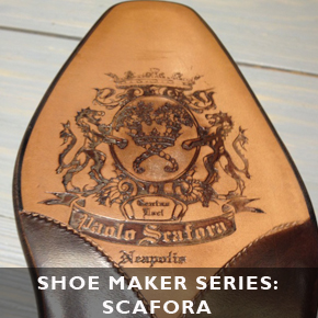 Shoemakers Series Continued: Paolo Scafora