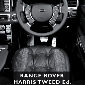 Range Rover Harris Tweed edition by A. Kahn