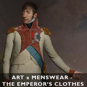 ART x Menswear Pt. 1 - De kleren van de keizer