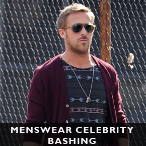 Menswear Celebrity Bashing