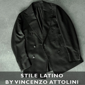 The Sexiest Suit Around - Stile Latino by Vincenzo Attolini